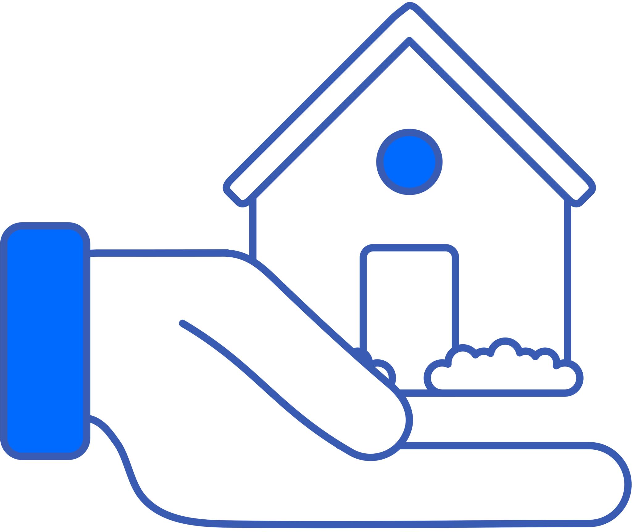 donatemyhouse logo