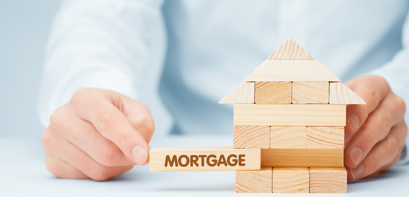 donate real estate with mortgage